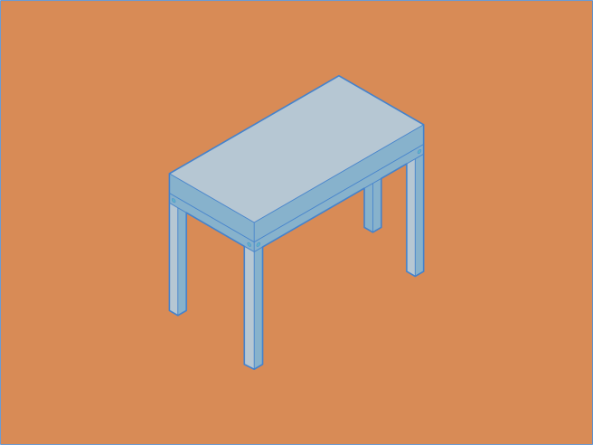 isometric table practice